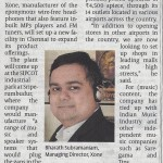 Xone in Business Line  Page 03 May 22 2015